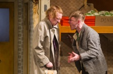 Domhnall Gleeson as Blake and Brian Gleeson as Sean in The Walworth Farce by Enda Walsh, directed by Sean Foley and produced by Landmark Productions. Photo: Patrick Redmond