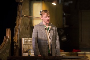 Brian Gleeson as Sean in The Walworth Farce by Enda Walsh, directed by Sean Foley and produced by Landmark Productions. Photo: Patrick Redmond