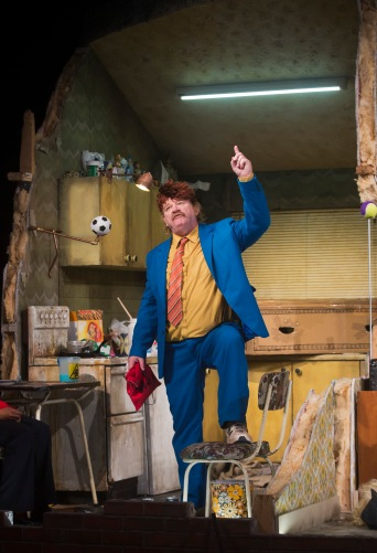 Brendan Gleeson as Dinny in The Walworth Farce by Enda Walsh, directed by Sean Foley and produced by Landmark Productions. Photo: Patrick Redmond